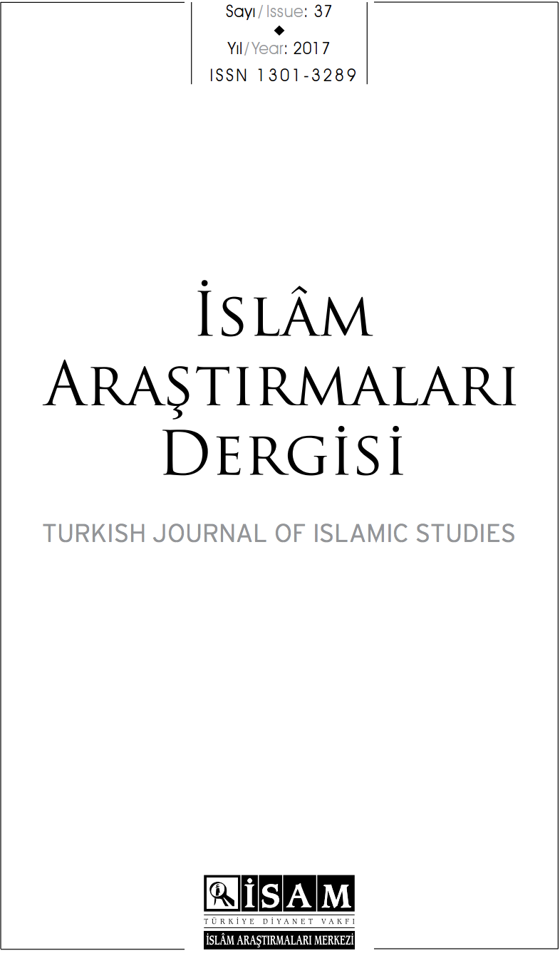 New Issue of ISAM's Islam Arastirmalari Dergisi