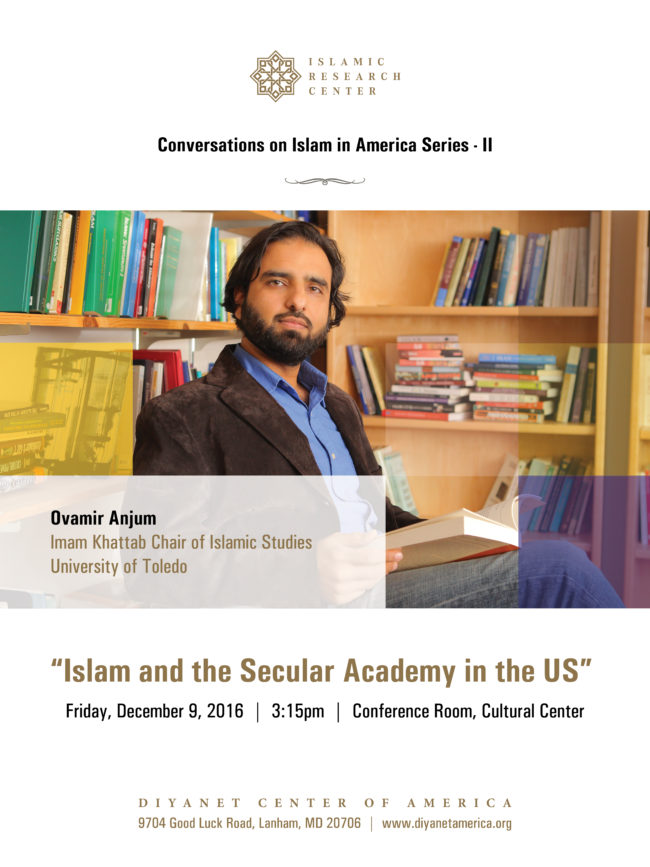 Conversations on Islam in America Series II – Islam and the